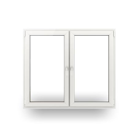 fenster kunststofffenster wohnraumfenster fenster 2 fl gelig mit pfosten neu ebay. Black Bedroom Furniture Sets. Home Design Ideas