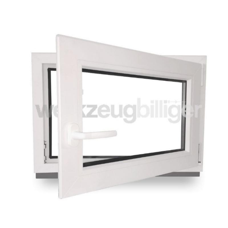 Kunststofffenster fenster kellerfenster alle breiten h he for Fenster 80 x 60
