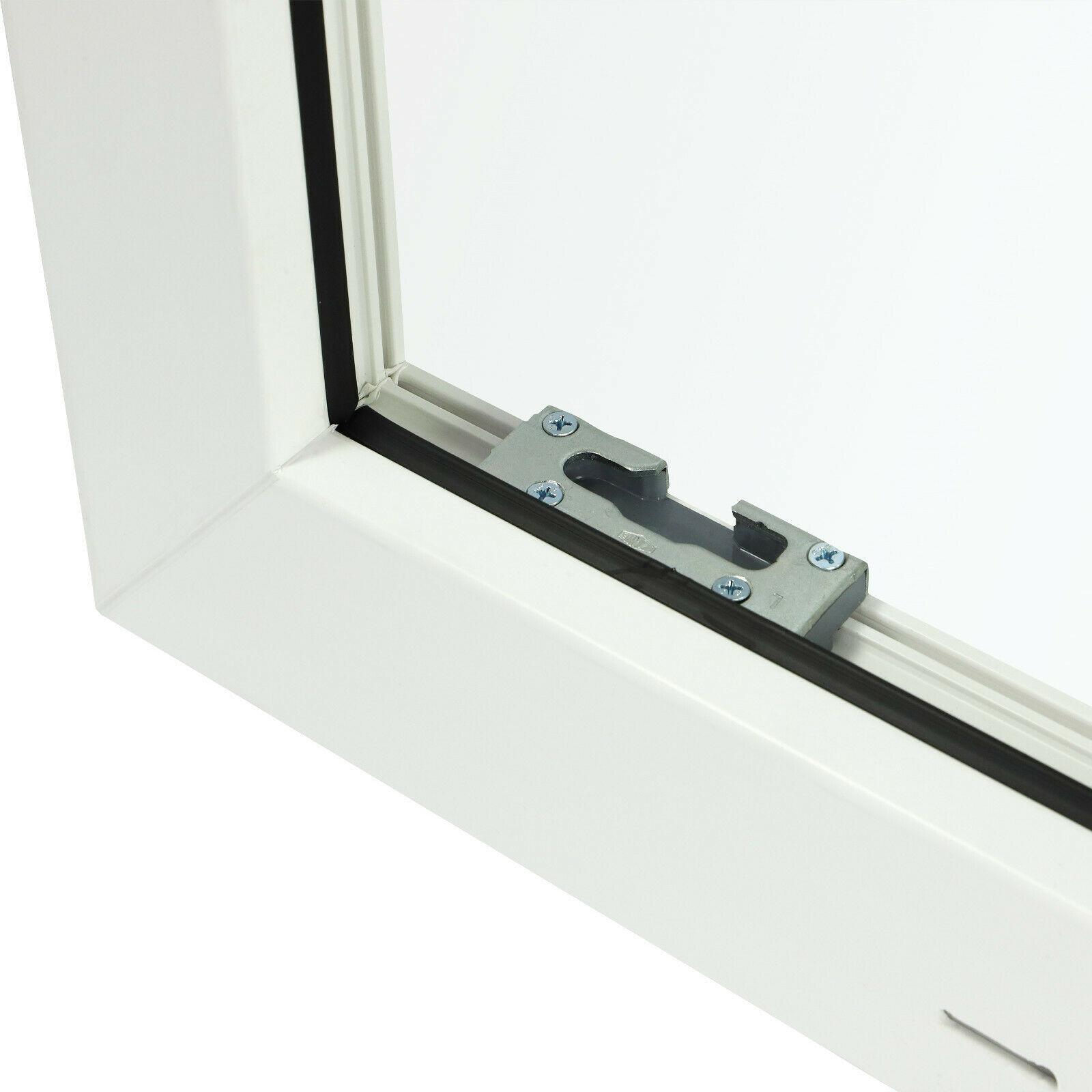 DIN rechts Fenster Kellerfenster Kunststoff wei/ß Lagerware BxH: 100 x 60 cm 3-fach-Verglasung