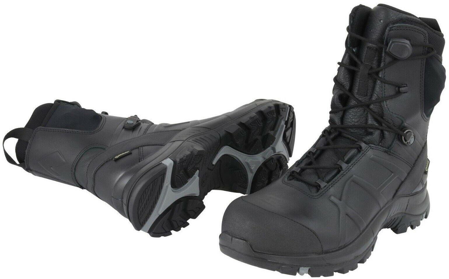 Haix Schwarz Eagle Sicherheit 50 Hoch 620010 GORE-TEX Sicherheit Stiefel