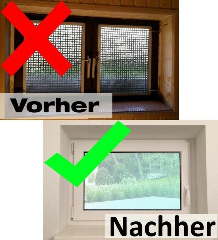 1000 x 700 mm Dreh- /& Kippfunktion DIN Links 60 mm Profil innen anthrazit//au/ßen anthrazit 2 fach Verglasung Fenster Kellerfenster BxH: 100 x 70 cm